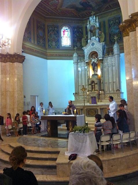 Missa de Encerramento da Catequese Bom Pastor