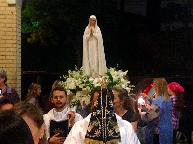 A visita de Nossa Senhora de Fátima (12/10/2015)