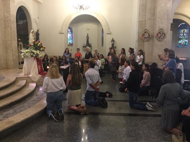 Oração das Mil Ave Marias (08/12/2015)