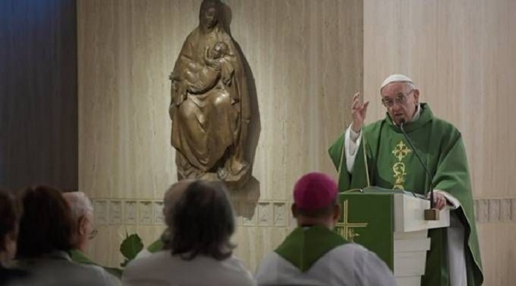 Papa Francisco: a vaidade é a osteoporose da alma