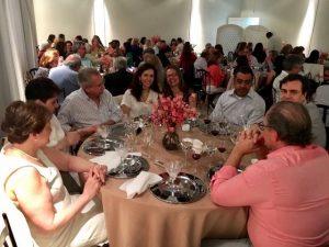 Jantar de confraternização de fim de ano dos Paroquianos