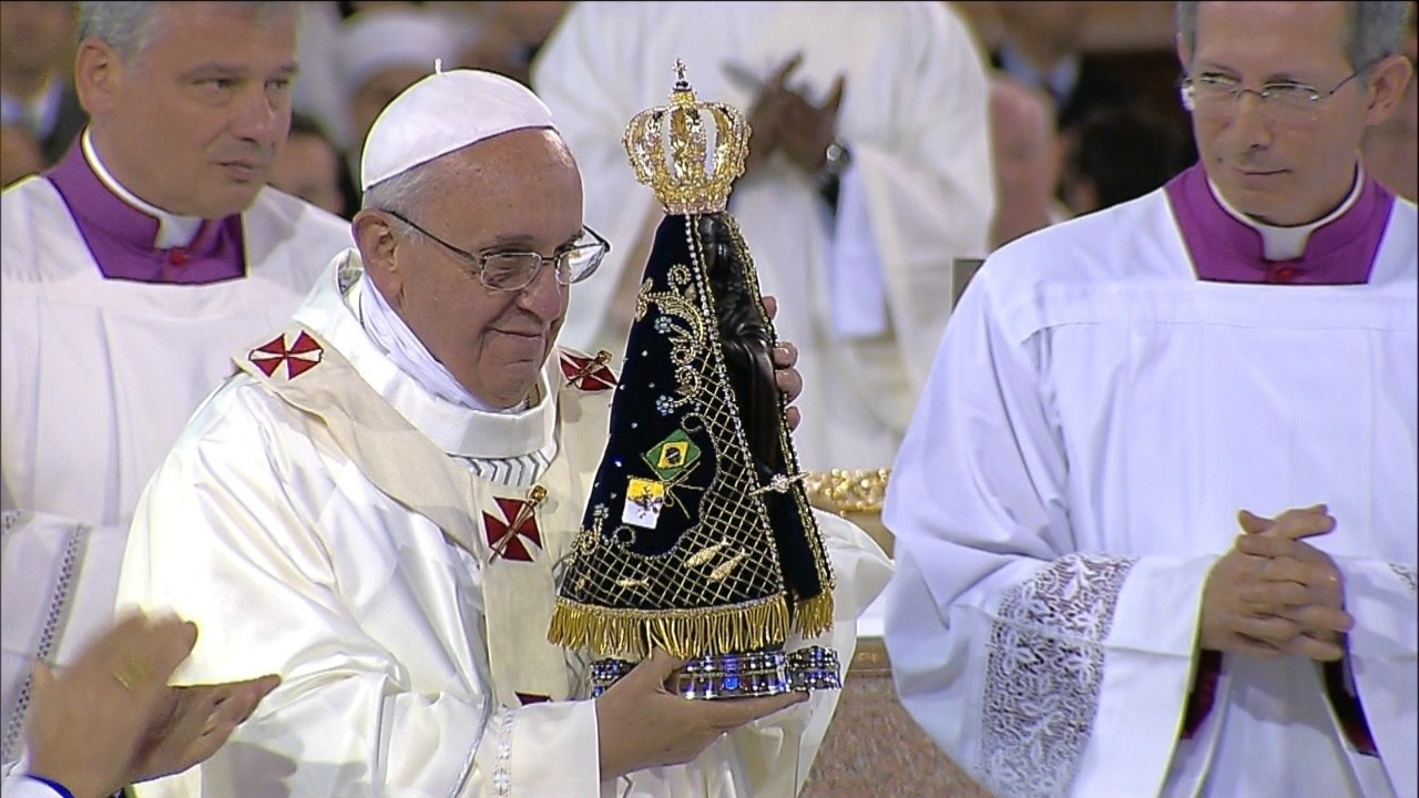 Papa: Maria permanece aberta ao plano salvífico de Deus