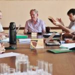 Bispos da Comissão 8 reunidos para encaminhamento de atividades e projetos