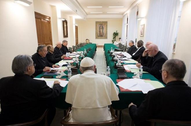 C9 reunido no Vaticano: a reforma vai adiante