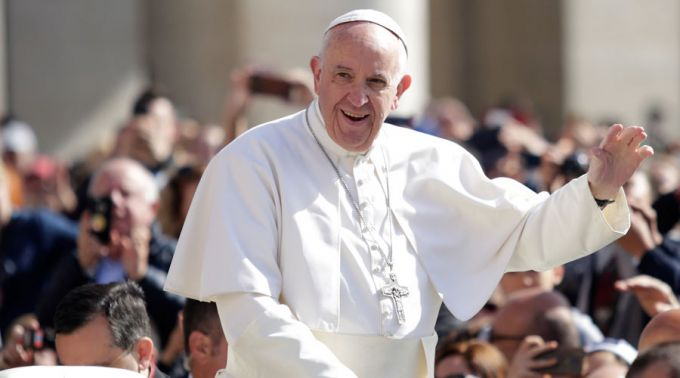 Cristãos no Oriente Médio devem se envolver na paz, afirma Papa Francisco