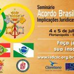 Seminário Acordo Brasil-Santa Sé organizado pela CNBB