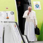 Papa termina peregrinação à 'Casa da Mãe'