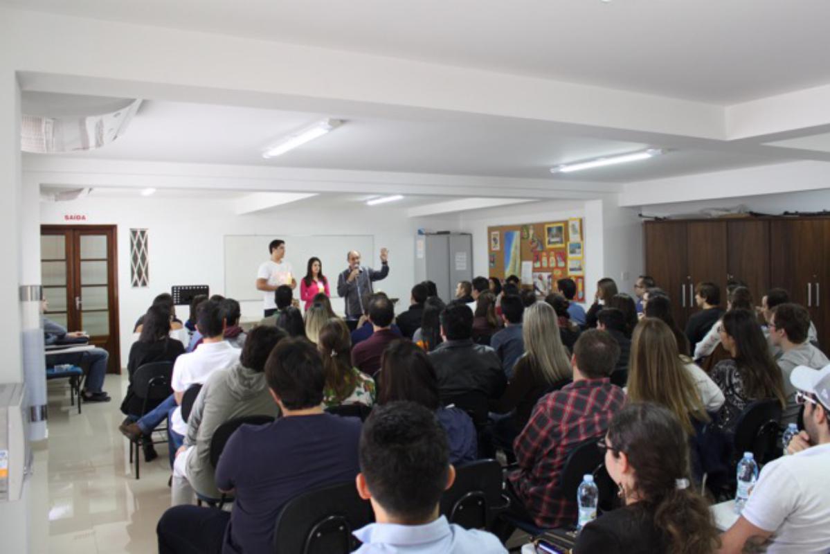 Curso de Noivos realizado no dia 1/4/2017