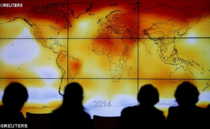 Relatório aponta: comportamento humano gera aquecimento global