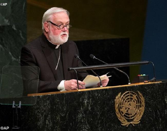Em discurso na ONU, Santa Sé pede combate à escravidão