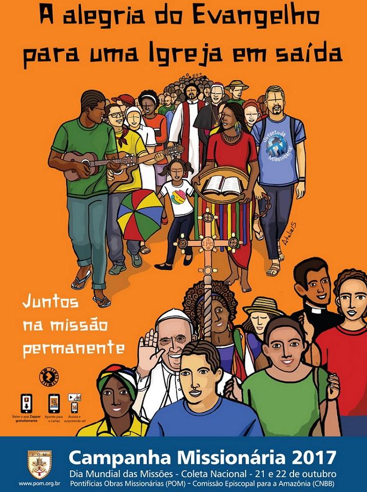 Dia Mundial das Missões será celebrado neste domingo