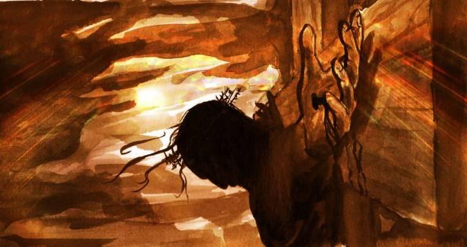 Elevados na cruz de Jesus
