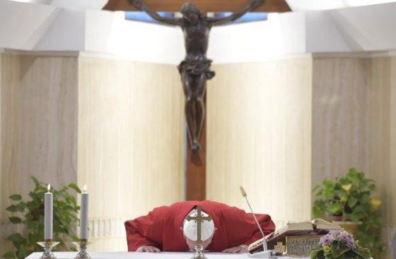 Papa: a cruz nos ensina a não temer as derrotas, pois com ela temos a vitória