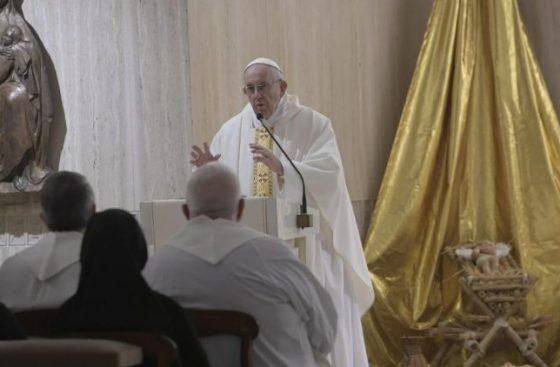 Papa na Santa Marta: a concretude é o critério do cristianismo