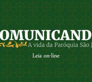 Acesse agora mesmo o Informativo Comunicando a Vida da Paróquia São José – Ed. Set/2019