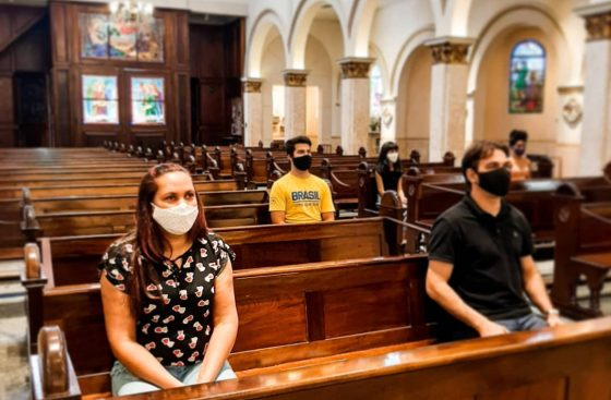 Orientações para as missas presenciais. Saiba mais