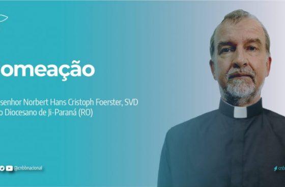Papa Francisco nomeia bispo para a Diocese de JI-Paraná (RO)